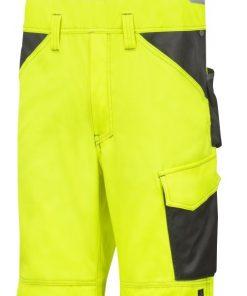 0113 helbukse highvis Snickers Workwear