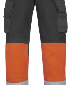 3833 Arbeidsbukse high vis oransje Snickers Workwear