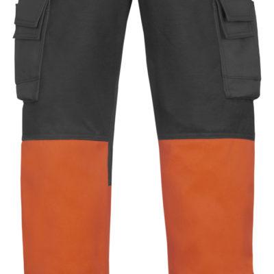 3833 Arbeidsbukse high vis oransje Snickers Workwear