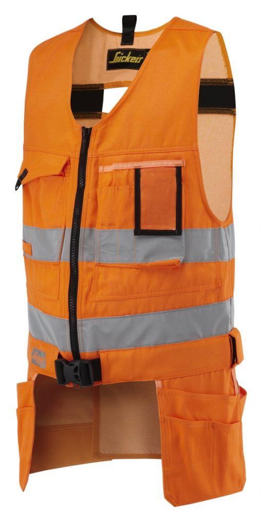 verktøyvest Snickers Workwear oransje