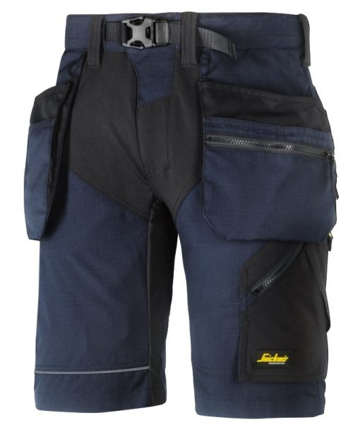 6904_flexiwork shorts snickers workwear marine