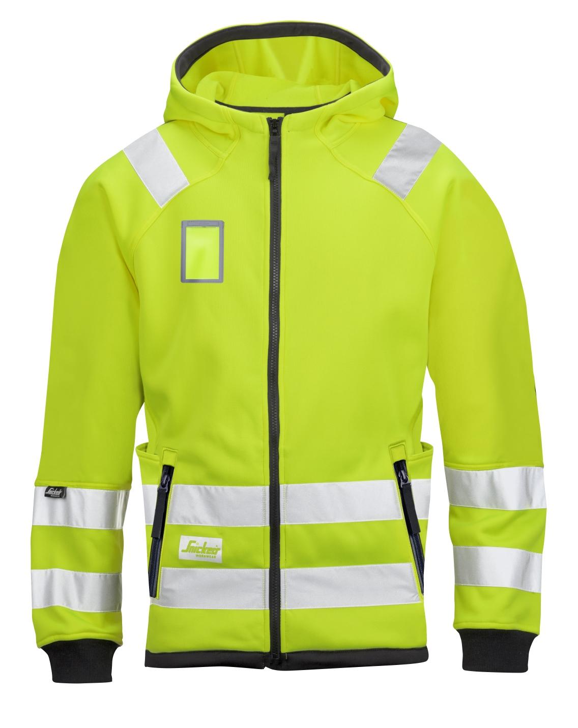 8043 Snickers Workwear hettejakke highvis