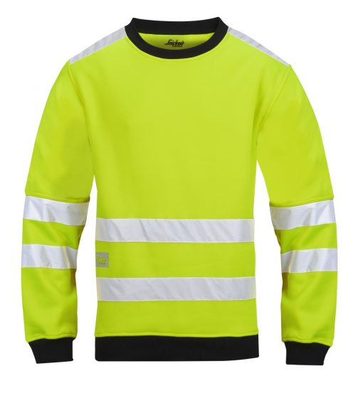 Genser highvis fleece Snickers Workwear