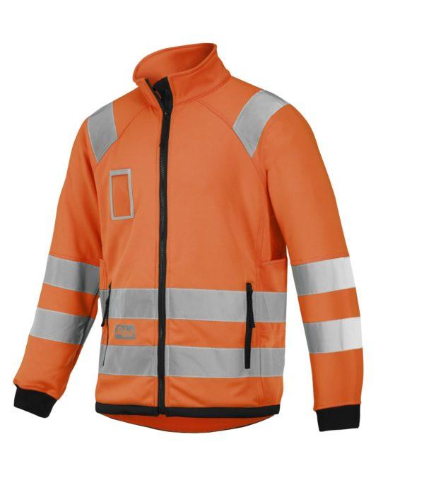 80636600_high-vis fleecejhakke Snickers Workwear Gul