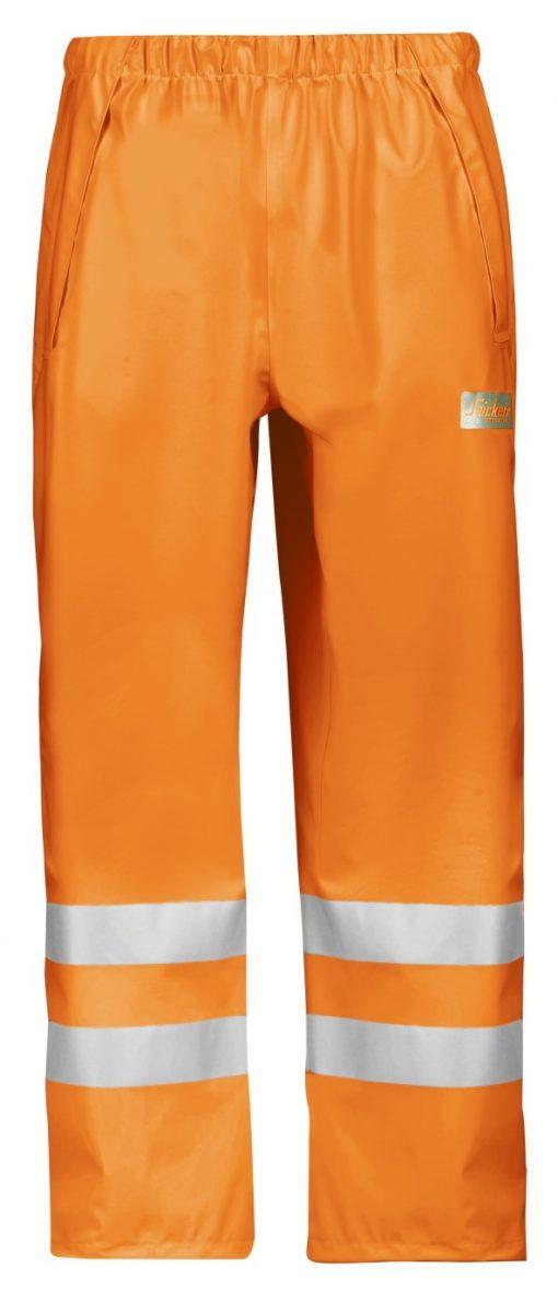 8243_highvis regnbukser Snickers Workwear