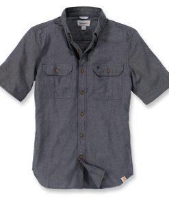 Carhartt Chambray skjorte, kort erm Arbeidsfolk