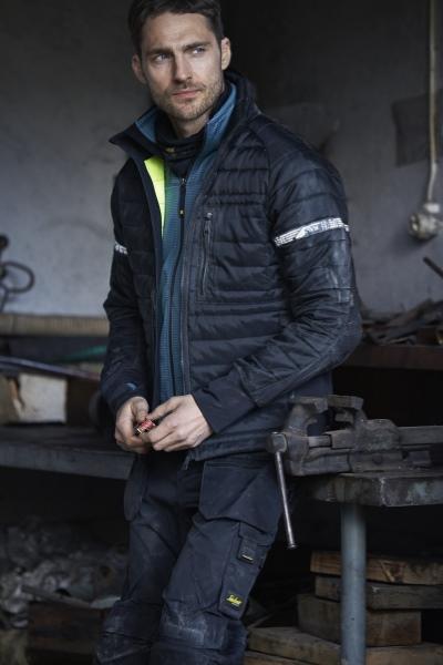 8101 vattert jakke snickers workwear mellomlag