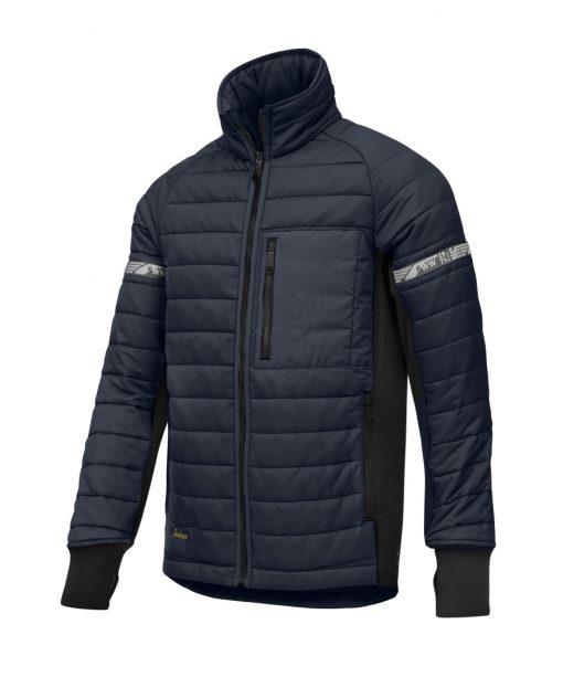 8101_vattert-jakke_snickers-workwear_mellomlag-blå